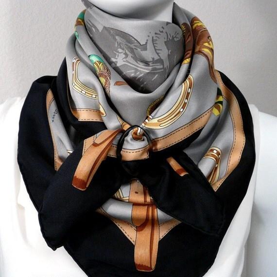 Hermes Silk Scarf Jockey