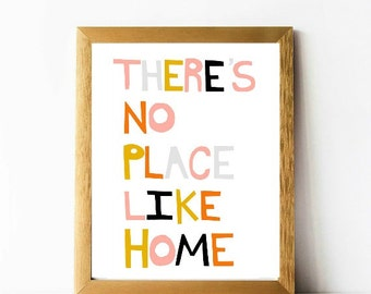 There's no place like home 8 x 10