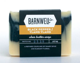 Black Pepper / Ylang Ylang Shea Butter Soap
