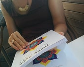 Jewish Soul Art Coloring Book-40 Designs-Jewish Holidays and Shabbat-Star of David-The Menorah-Hebrew Prayers and Blessings-נשמה יהודית