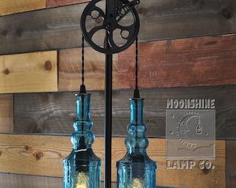 The Gatsby, vintage style floor lamp