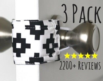 Sleepy Southwest (3 PACK) Door Silencer, Door Jammer, Nursery Door Silencer, Door cushion, Door latch cover, baby shower gift, LATCHY CATCHY