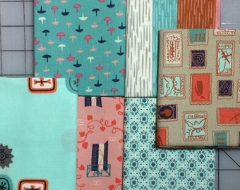 Cotton + Steel - Homebody - Kimberly Kight - Set of 6 Fat Quarter cuts #11