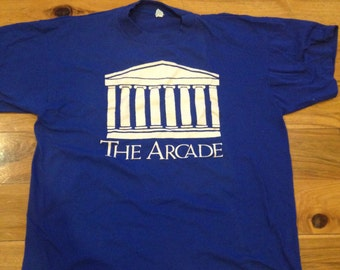 Vintage Providence The Arcade early 80s T-shirt