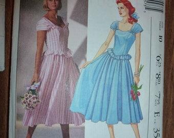 Vintage McCaLL'S Pattern 3557  Laura Ashley Pattern  Size 10