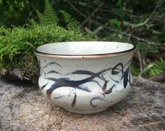 Handmade Ceramic Swirl Bowl