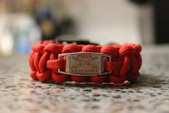 Artillery Paracord bracelet