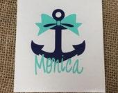 Anchor Decal