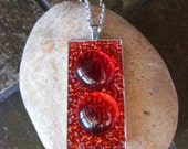 Red Pendant Necklace DLJ0155