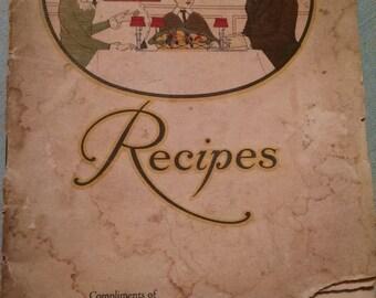 Wesson Oil Cookbooklet