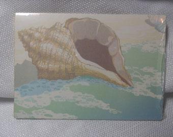 Vintage Hallmark, Seashell Postcards, 12 Sealed