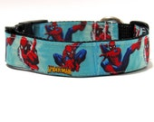Dog Collar Superman, FREE SHIPPING, superman, dog collar, adjustable dog collar,Super hero