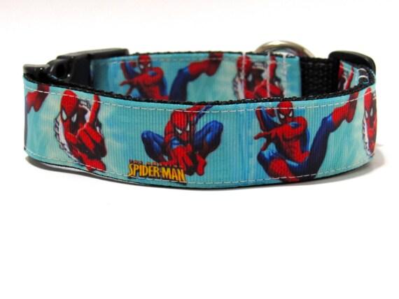 Dog Collar Superman, FREE SHIPPING, superman, dog collar, adjustable dog collar,Super hero