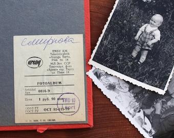 Soviet photo album Vintage photo album Unused vintage picture album Pink 1978 Ussr Scrapbook