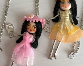 Charm Doll Necklace