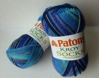 Yarn Sale  - Deep End 4 Ply Kroy Socks by Patons