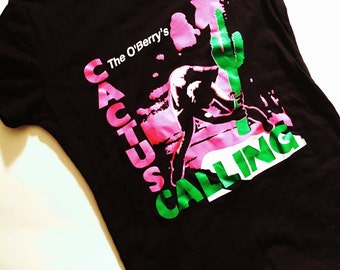 Cactus Calling, Clash Parody Shirt, Chad Mize, Chizzy