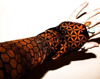 Flower of life psy cuffs