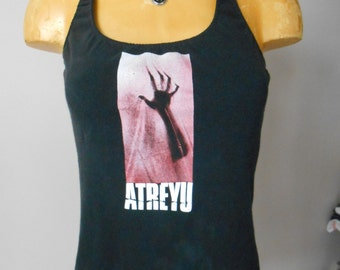 Atreyu halter top Reconstructed Metalcore Band DIY
