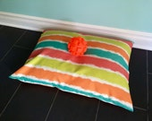 Pet Bed Cover, Modern Dog Bed Cover, Outdoor Pet Bed, Tropical Summer Pet Bed Cover, Custom Sizes