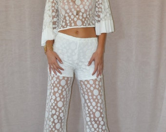 SALE Roxy Pants in Ivory
