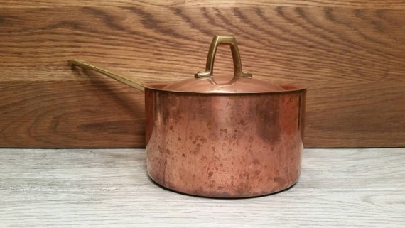 Rivere copper bottom three quart pan
