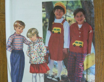 Simplicity 9178, Child's Top, Child's Pants, Child's Jumper, Child's Jacket