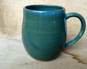 Blue and Green Mini Mug