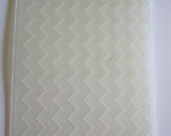 Chevron Stampin' Up! Embossing folder by Sizzix