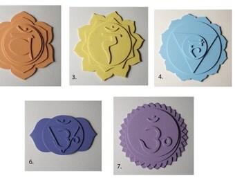 3 dimensional chakra symbols