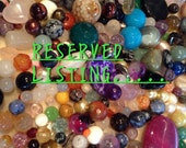 Reserved for Revy R3vy4l. Rose quartz and fresh water pearl beaded chain necklace, bracelet and earrings set