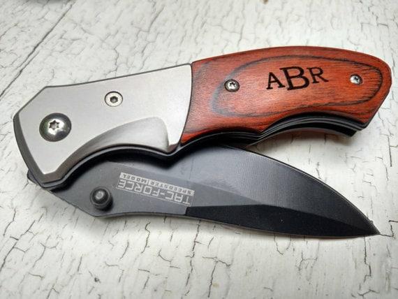 Knives, Gift for Groomsmen, Wedding Favors, Folding Pocket Knife ...