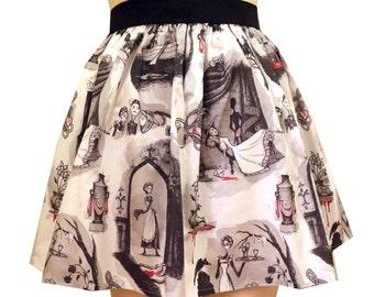 Victorian Murder Mystery Full Skirt