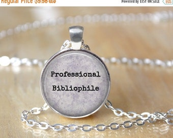 Bibliophile Necklace - Book Lover Necklace - Custom Necklace - Literary Jewelry - Literature Lover - Librarian Necklace 145