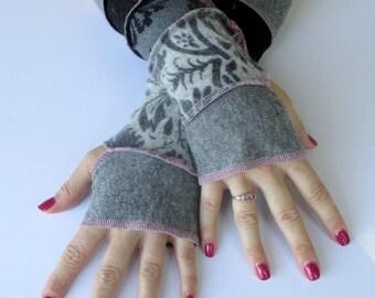 Ladies Long Fingerless Gloves - Typing Gloves - Festival Gloves - Gypsy Gloves - Hippie Gloves - Texting Gloves - Long Arm Gloves -