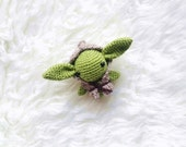 Amigurumi PATTERN -Master Yoda  Star Wars - Crochet Star Wars Pattern