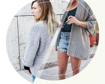 Crochet PATTERN- The Cardigan Collection