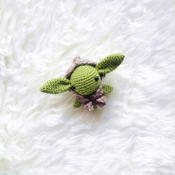 Jedi Master Yoda Amigurumi Pattern : Inflable De Master Yoda Navide - Adidum