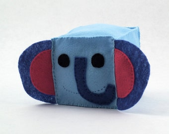 Elephant Plush Animal Block