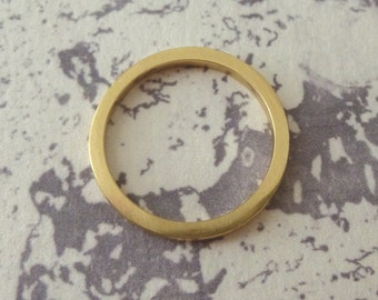 9ct Gold Band Ring Square - 2mm wide - 9ct Yellow Gold - Square Band - 9ct Gold Wedding Ring