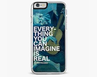 Pablo Picasso Quote iPhone 7 Case, iPhone 7 Plus cover , iPhone 6s case, iPhone 6 plus cover