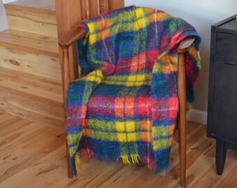 Creagaran Plaid / Tartan Blanket / Throw Made in Scotland
