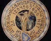 """FREE SHIPPING - Ouija board - Spirit board - Talking board """"May night"""""""