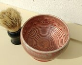 Shaving Bowl - Handmade UK -Shaving Accessories - Shaving Mug - Shaving Cup - Gifts for Men - Porcelain and Earthenware Clay