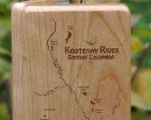 KOOTENAY RIVER MAP Fly Bo...