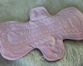 Light Pink Minky Pads - Custom Mama Cloth - Menstrual Pads - Reusable Cotton Pads - CSP - Cloth Sanitary Pads - Made to Order