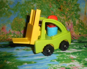 Fisher Price Little People-Fork Life With Worker