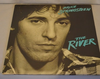 Vintage Double Record Bruce Springsteen: The River Album PC2-36854