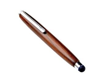 Handmade Stylus Pen - Ziricote Wood - Wedding Gift - Gift Box Included
