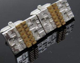 Industrial Cufflinks Vintage Mens Jewelry Accessories H817